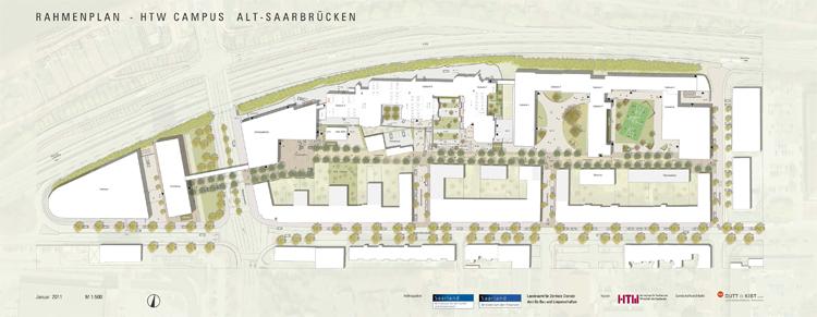 HTW-Rahmenplan, HDK Dutt & Kist, Planstand 2011