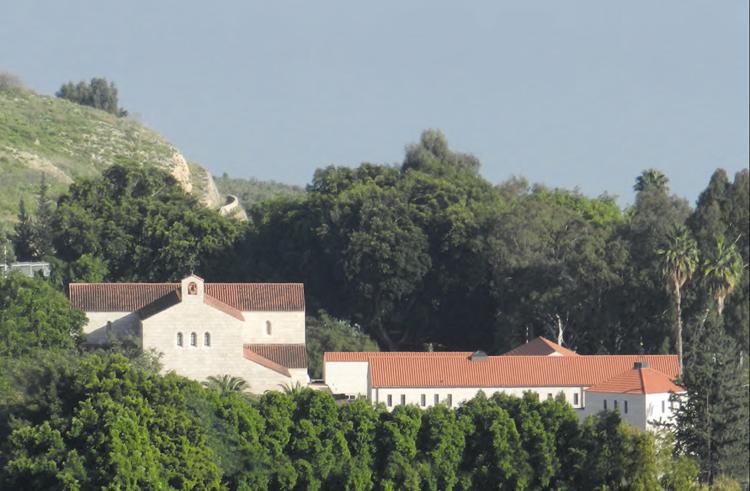 Kloster in Tabgha, Israel. Bild: Alois Peitz, Hubertus Hillinger, Trier
