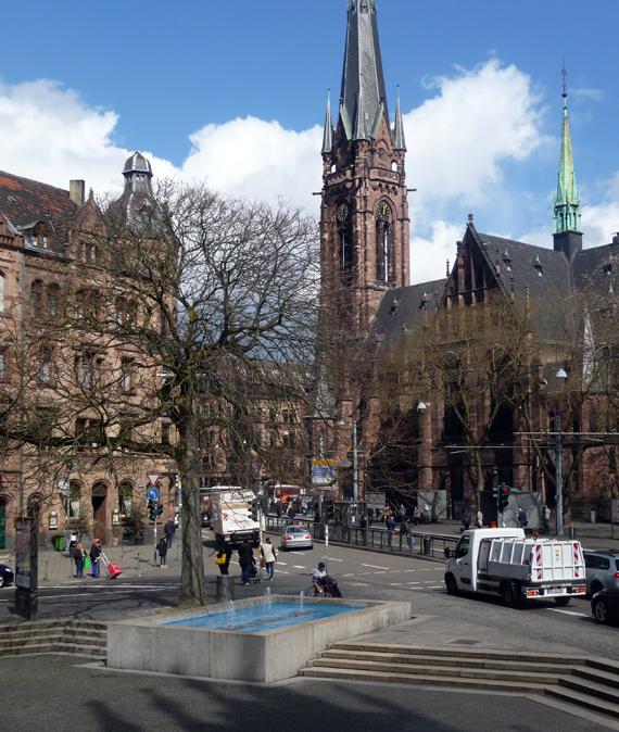 Johanneskirche in Saarbrücken, Foto: Marlen Dittmann