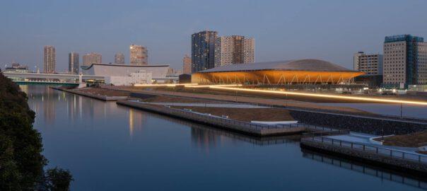 Ariake Gymnastics Center; Architekt und Foto: Nikken Sekkei